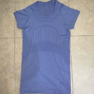 Lululemon blue swiftly tech t shirt